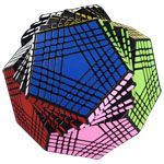 ShengShou Petaminx Magic Cube Black