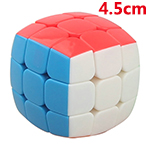 YongJun 45mm Mini Bread Stickerless Magic Cube