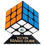 YuXin Huanglong 3x3x3 Inertial Driven Speed Cube Black