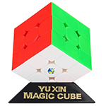 YuXin Huanglong 3x3x3 Inertial Driven Stickerless Speed Cube