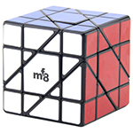 MF8 62mm Unicorn Hexahedron Puzzle Cube Black