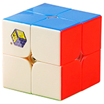 YuXin Little Magic 2x2x2 Stickerless Magic Cube