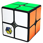 YuXin Little Magic 2x2x2 Magic Cube Black