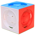 Deformed 3x3x3 Centrosphere Stickerless Cube