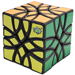 LanLan Mosaic Magic Cube Puzzle Black