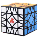 MF8 Chinese Fu Lattices Panel Magic Cube Puzzle Black