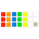 Full-bright 3x3x3 Stickers For Gan356 Air Gan356 Air SM UM Gan356S