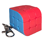 Penrose 3x3 Magic Cube Keychain Stickerless