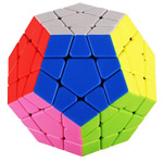 ShengShou TANK Frosted Megaminx Stickerless Cube