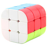 Prism 3x3x3 Magic Cube Puzzle Stickerless