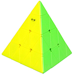 QiYi MoFangGe 4-layer Pyraminx Cube Stickerless