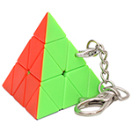 Pyraminx Magic Cube Keychain