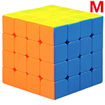 QiYi Mofangge WuQue Mini M 4x4x4 Magnetic Speed Cube 60mm St...