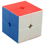 YongJun Ruipo 2x2x2 Magic Cube Stickerless