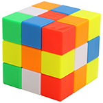 YuXin 3x3x3 Interlocked Cube Puzzle
