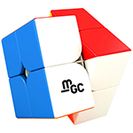 YongJun MGC Magnetic 2x2x2 Speed Cube Stickerless
