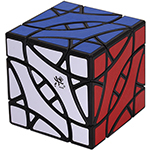 DaYan BiYiNiao 12-axis 3-rank Magic Cube Black