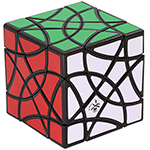 DaYan ShuangFeiYan 16-axis 3-rank Magic Cube Black