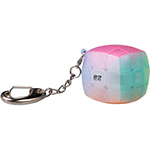 QiYi Mini Bun Keychain Jelly Cube