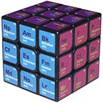 CB Chemical Element 3x3x3 Magic Cube