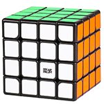 MoYu AoSu GTS2 4x4x4 Speed Cube Black