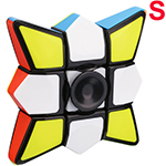 CB Fidget Fingertip 1x3x3 Cube Black Small Version
