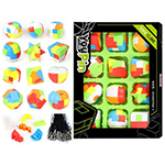 YP Kongming Luban Intelligence Logic Cube Lock Jigsaws Assembly Toy 12-Pack