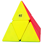 QiYi 2x2 Pyraminx Stickerless Cube