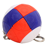 3-Color Russian Spherical Magic Ball Keychain