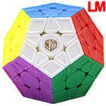 QiYi Galaxy V2 LM Magnetic Sculpture Stickerless Megaminx