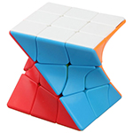 FanXin 3x3x3 Twisty Magic Cube Stickerless