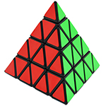 CB 4-layer Pyraminx Cube Black
