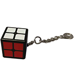 Zcube 2x2 Cube Style Ornament Keychain