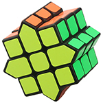DIY Octagonal 3x3x3 Magic Cube Black