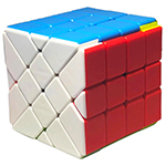 FanXin 4x4x4 YiLeng Fisher Cube Stickerless