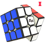 YongJun MGC V2 Magnetic 3x3x3 Speed Cube Black