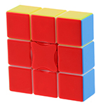 YongJun 1x3x3 Stickerless Magic Cube