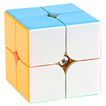 YongJun YuPo Magnetic 2x2x2 Speed Cube Stickerless