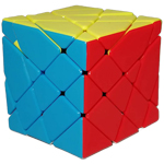 FanXin 4x4x4 Axis Magic Cube Stickerless