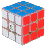YuXin Kylin V2 M 3x3x3 Magnetic Speed Cube Transparent