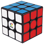 YuXin Kylin V2 M 3x3x3 Magnetic Speed Cube Black Deep Red Ve...