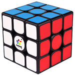 YuXin Kylin V2 M 3x3x3 Magnetic Speed Cube Black Light Red V...
