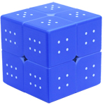 CB Brailled 2x2x2 Magic Cube