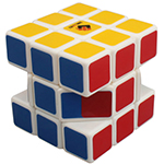 CubeTwist Cartwheel 3x3x3 Magic Cube White