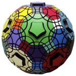 Verypuzzle Truncated Icosidodecahedron Cube Black