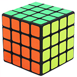 SENGSO Mr. M Magnetic 4x4x4 Speed Cube Black