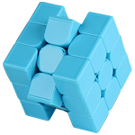 MoYu Weilong GTS3 M CONFIDENT 3x3x3 Speed Cube Limited Edition Blue