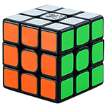 DaYan TengYun M 3x3x3 Magnetic Speed Cube Black