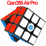 GAN356 Air Pro Numerical IPG 3x3x3 Speed Cube Black