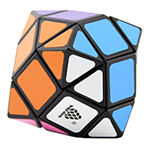 WitEden Icosahedron Mixup Magic Cube Black